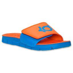 a2f53948e6daa Boys  Grade School Nike Flex Motion Signature Slide Sandals