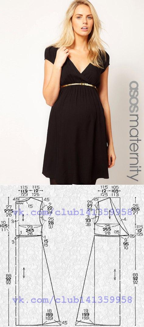 Шитье | простые выкройки | простые вещи | patrones de embarazo ...
