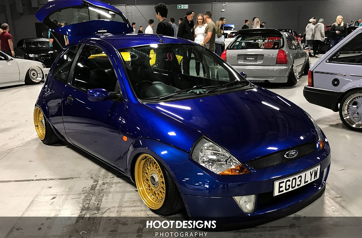 Fitted Uk 2017 This Stanced Ford Ka Though Ford Ka Stanced