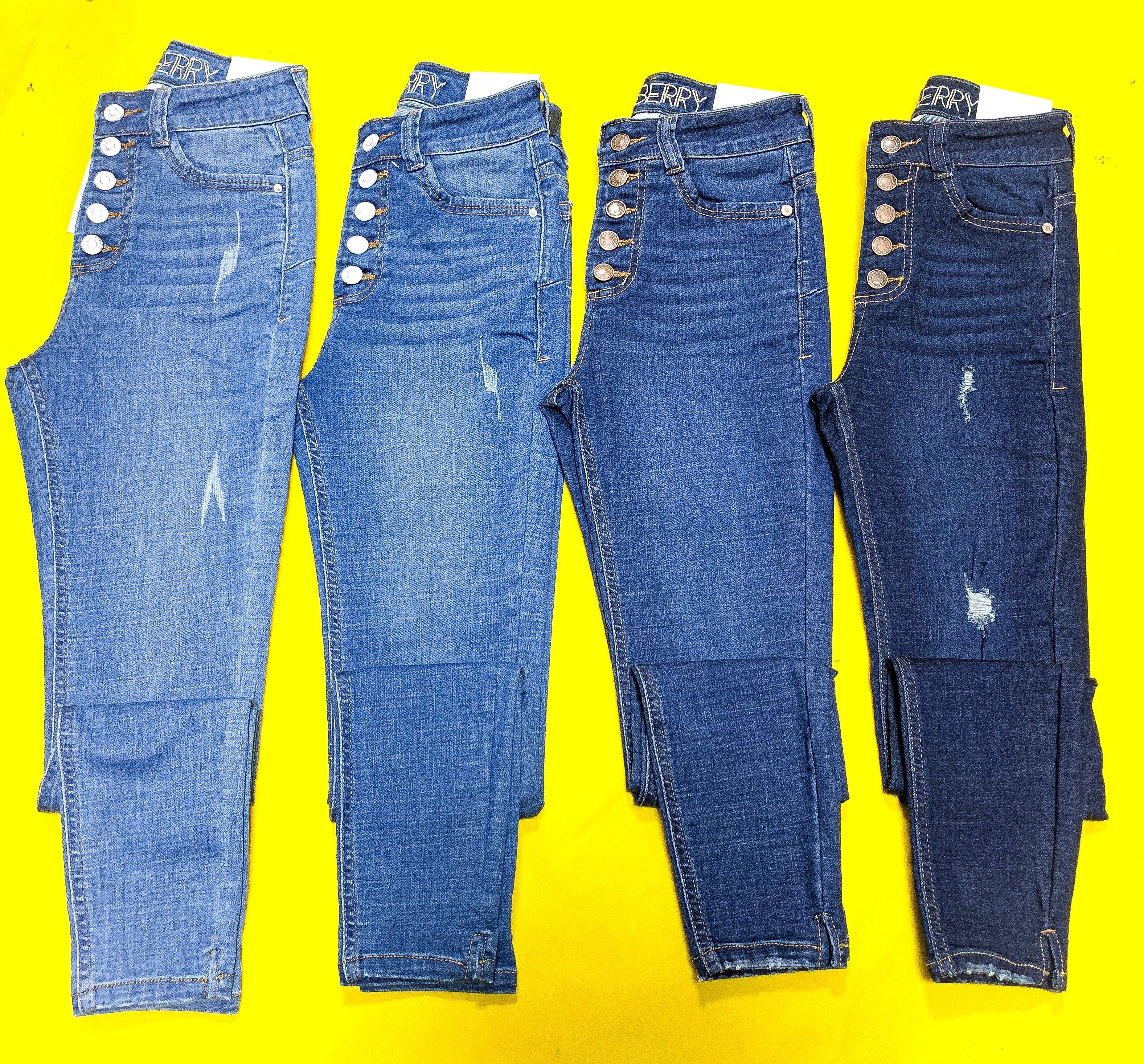 Kamberry 5 Botones Denim Wear How To Wear Mom Jeans