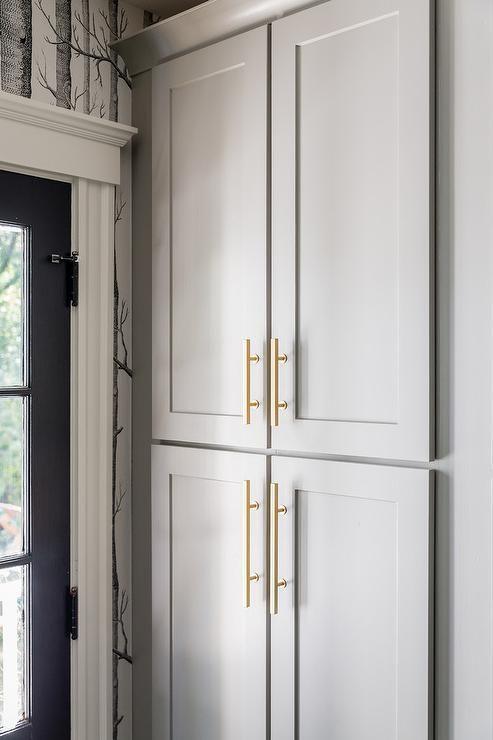 Cabinet Paint Color Is Cape May Cobblestone Rich Mid Tone Warm Gray Jennifer Carvosi Design