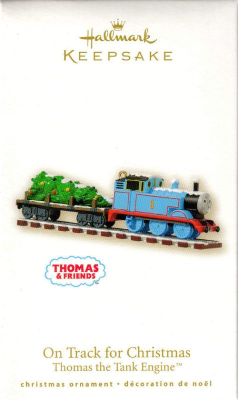 2008 On Track For Christmas Thomas The Train Holiday Ideas