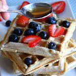 Vegan & Gluten Free Buckwheat Waffles