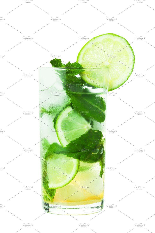 Mojito White Mojito Mojito Cocktail White Background