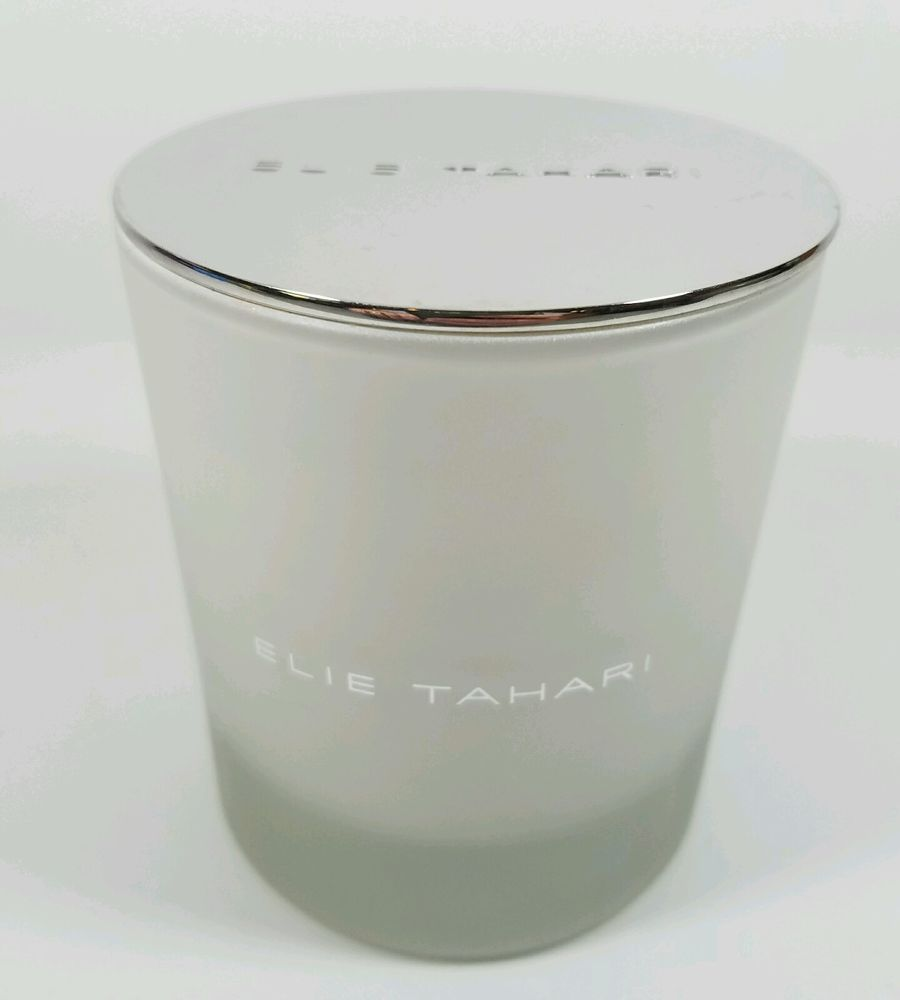 Elie tahari candle not tahari home in tall s w silver lid