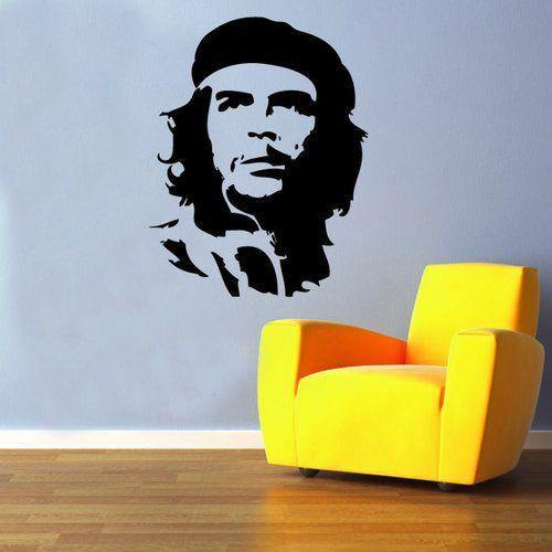 East Urban Home Wandtattoo Che Guevara | Wayfair.de