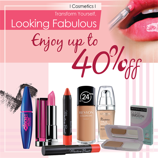 We have got some great cosmetic deals from around the web