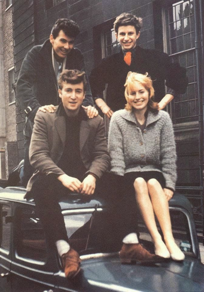 Early Photos Of Cynthia And John Lennon As Teenagers In Liverpool 1958 1959