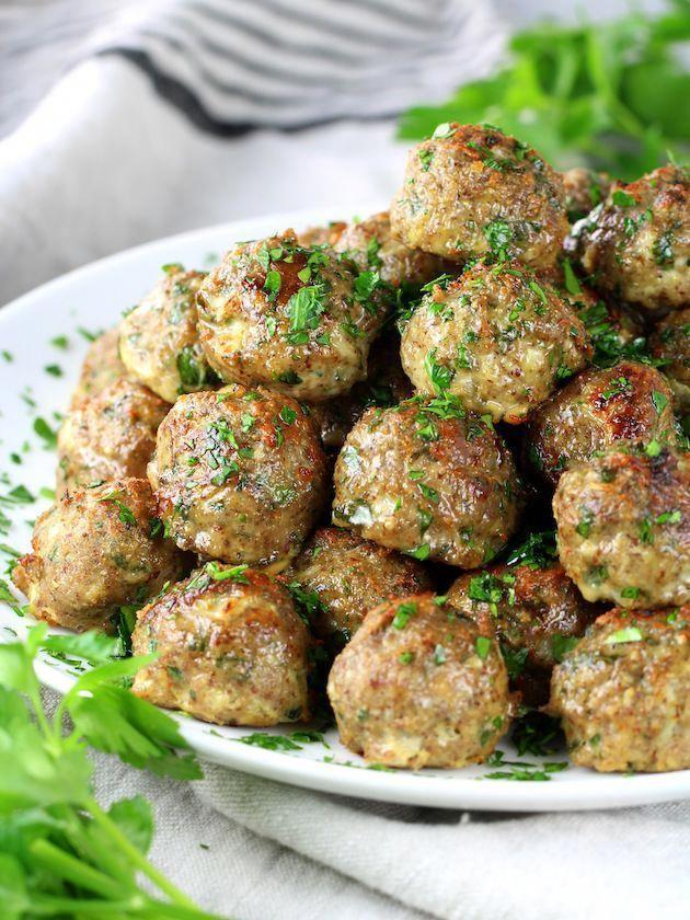 Healthy Meal Prep Baked Turkey Meatballs  Taste And See