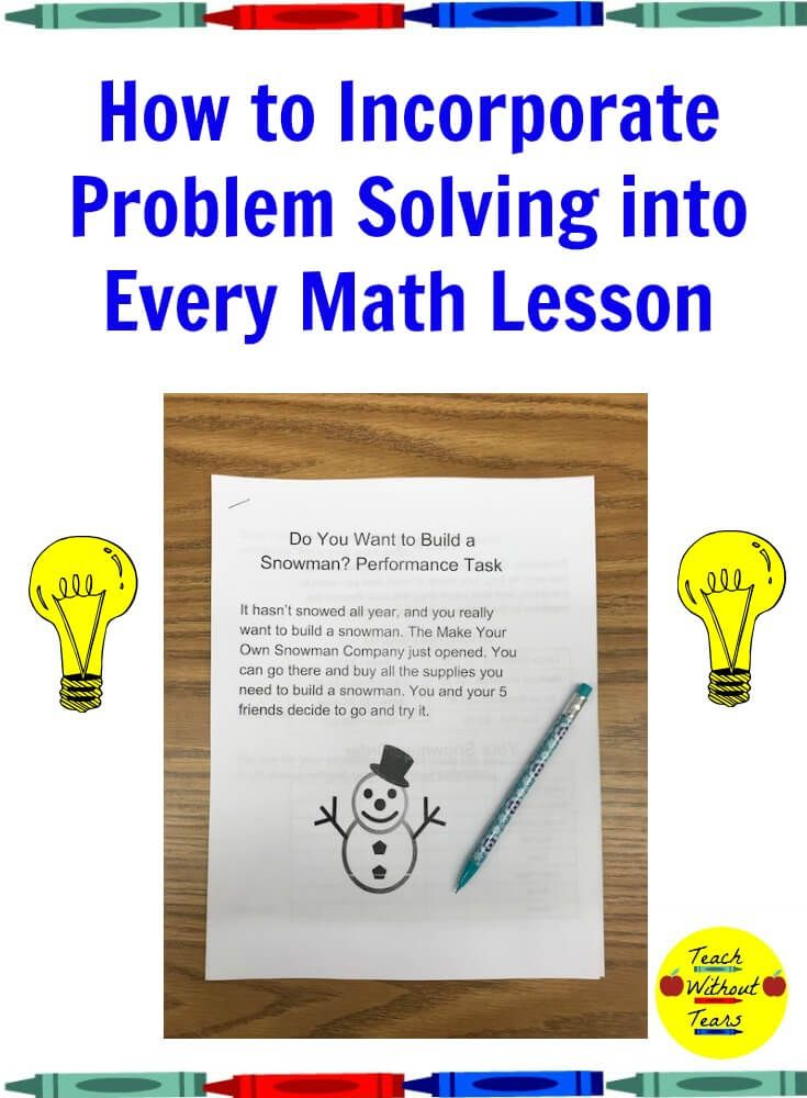 Problem solving is an important math skill. Use these tips to ...