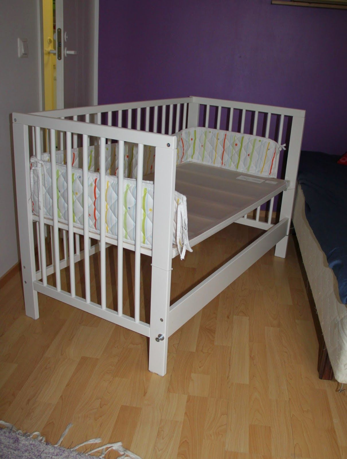we boughta a ikea gulliver baby crib and some improvements needed to be made we wanted to have. Black Bedroom Furniture Sets. Home Design Ideas