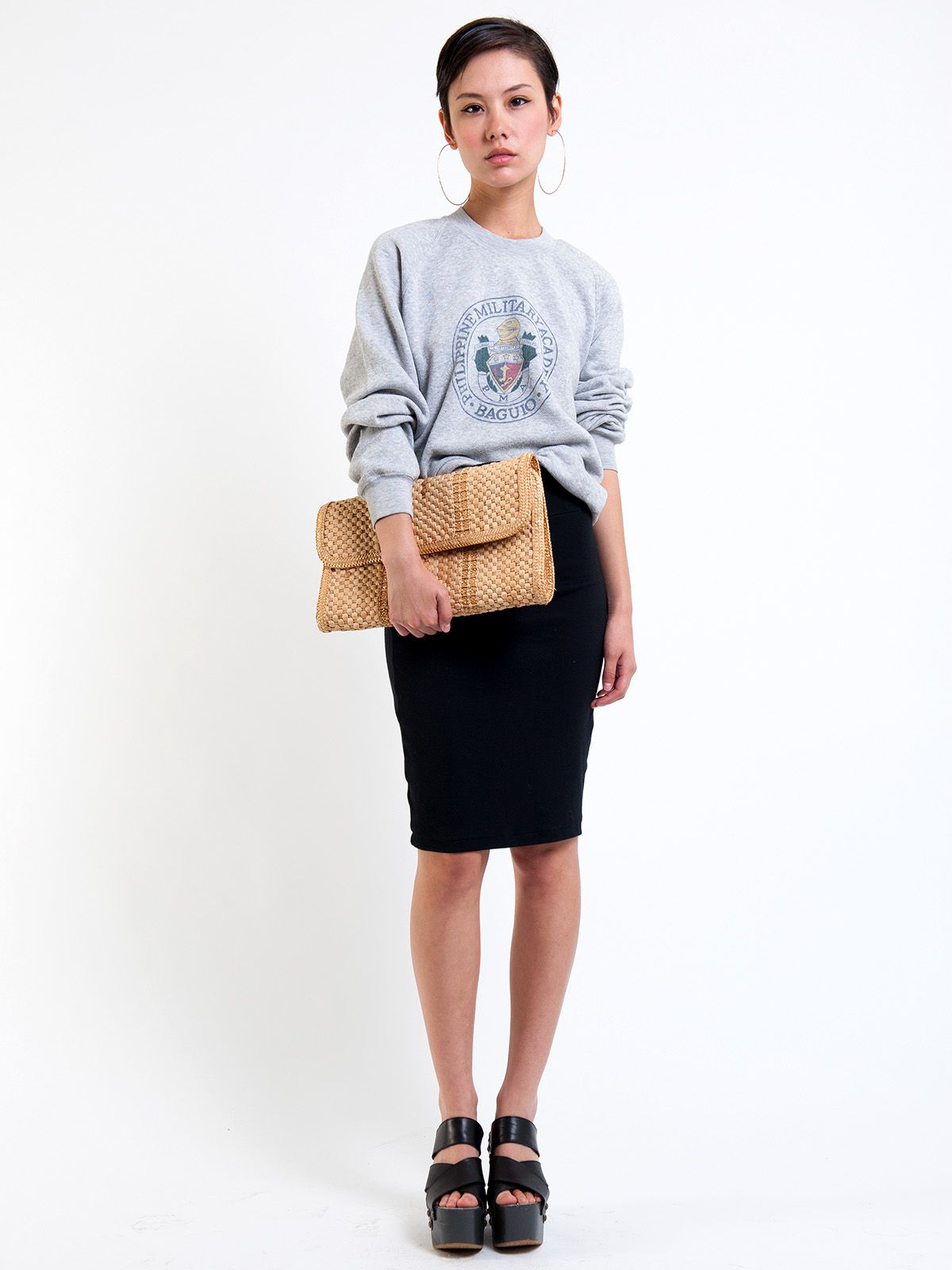 Perfect summer clutch; check it out now on R29Shops!