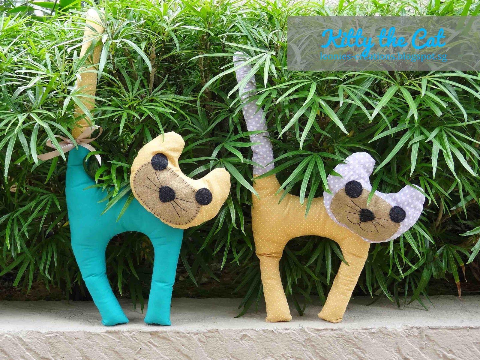 Katzen nähen | Nähen _ Spielzeug und Kuscheltiere | Pinterest ...