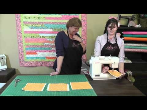 Free motion machine quilting tutorial by hilary | quilt.