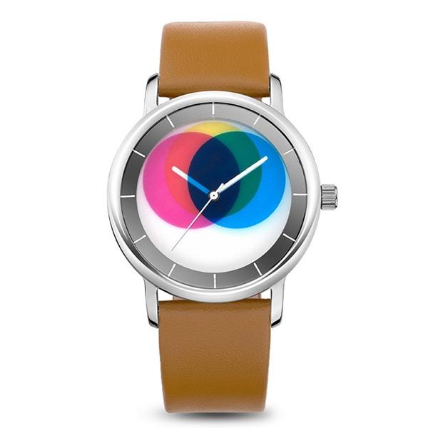 69.00$  Watch now - http://aliimg.worldwells.pw/go.php?t=32665823611 - Time2U Ladies Fashion Concept Minimalist Colorful  Rotable Dial Business Women Quartz Watch Wristwatch 69.00$