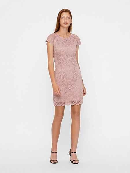 Vero Moda Spitzen Kleid, Rundhalsausschnitt online kaufen ...