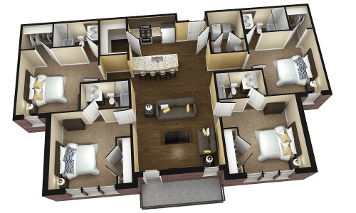 Ideas Art 4 Bedroom Apartments Midtown Bowling Green Ky For Rent