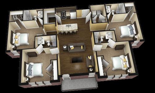 4 Bedroom Apartments For Rent Check More At Https Patantour Com 37585 4 Bedroom Apartme Planos Para Construir Casas Planos De Casas Modernas Disenos De Casas