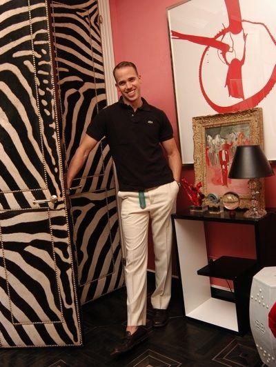 Designer Miles Redd    Zebra Doors. Famous Interior DesignersWorld ...