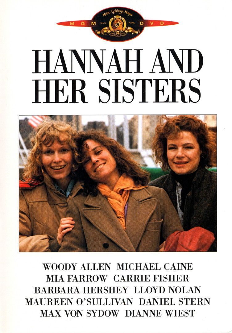 WOODY ALLEN/'S hannah and her sisters MOVIE POSTER mia farrow 24X36 CLASSIC