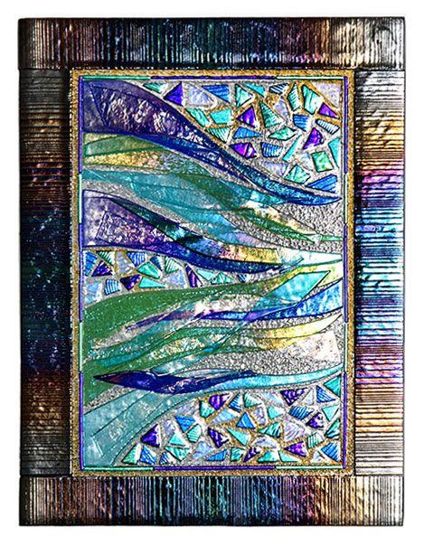fused glass wall art panels  sc 1 st  Pinterest & fused glass wall art panels | Glass Inspirations | Pinterest | Glass ...