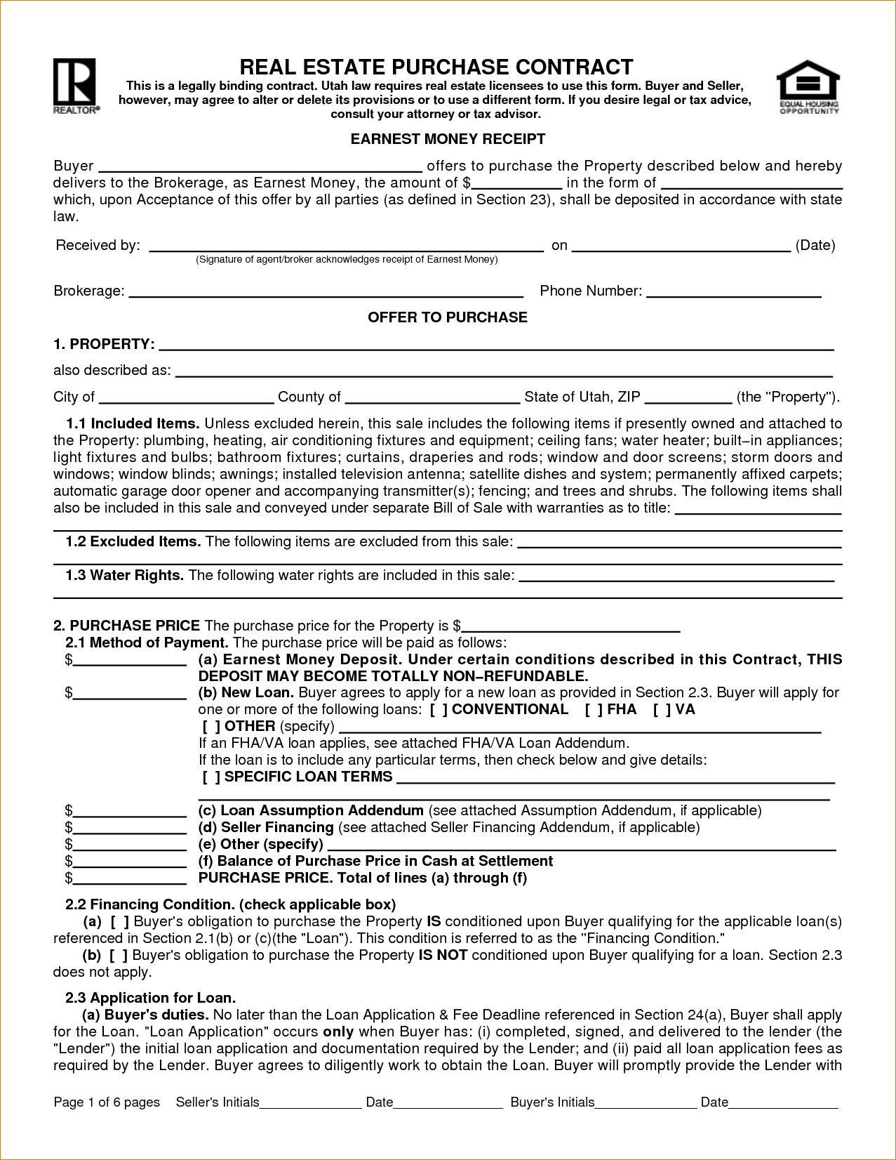 Real Estate Saleowner Colona Rsd7 Pertaining To For Sale By Owner Contract Template Best Professio Real Estate Contract Purchase Contract Contract Template