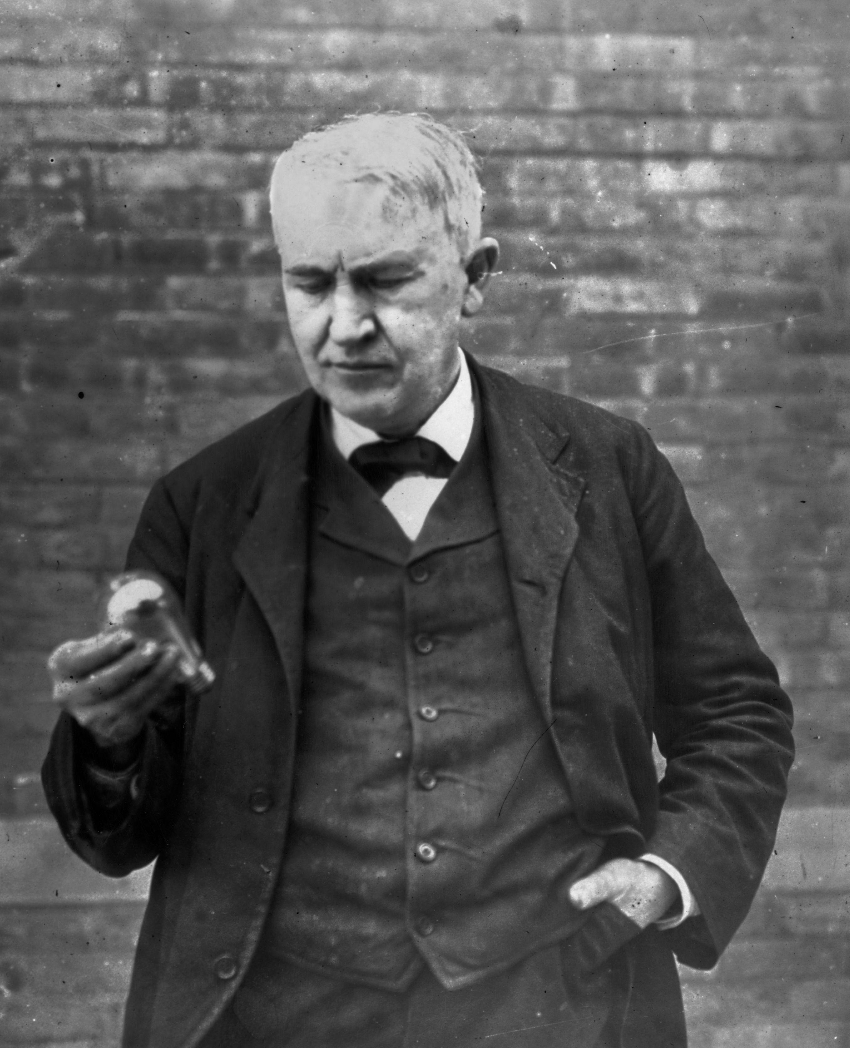 Biography Of Thomas Edison American Inventor Thomas Edison Thomas Edison Quotes Alva Edison
