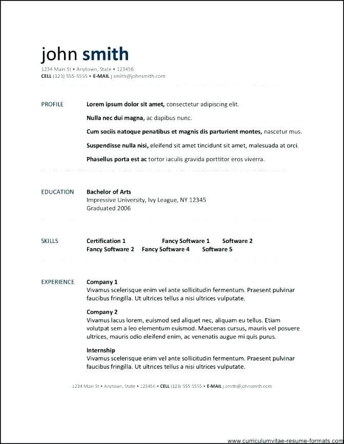 Resume Templates For Openoffice 4 #openoffice #resume