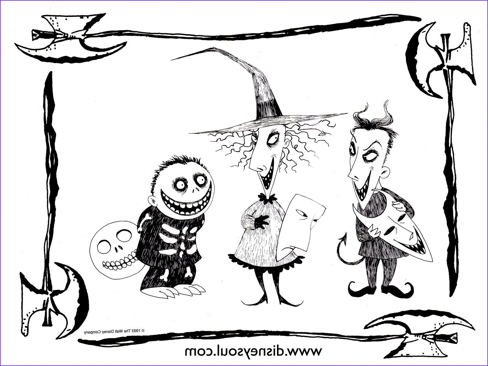 11 Unique Photos Of Nightmare Before Christmas Coloring Page In 2020 Christmas Coloring Pages Nightmare Before Christmas Drawings Christmas Coloring Books