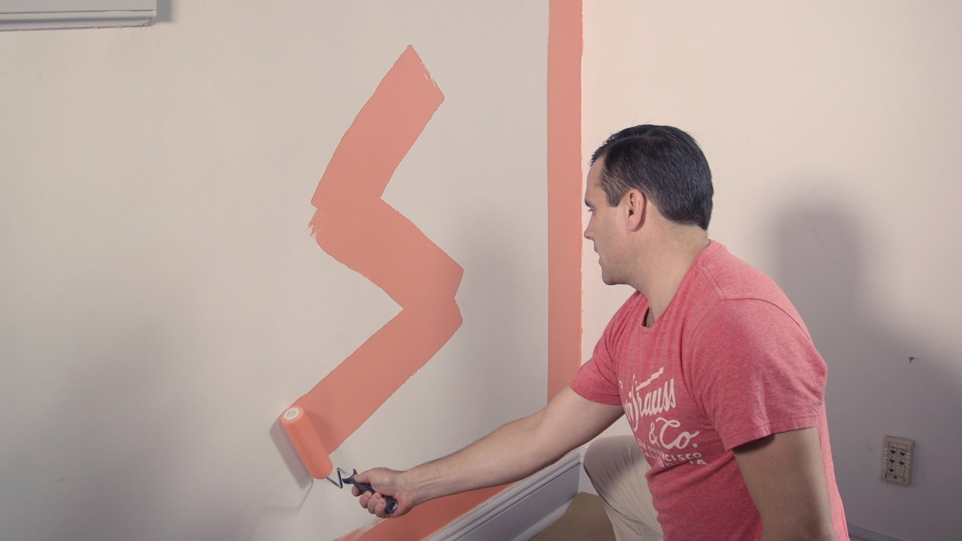 Painting A Wall Doesn T Have To Be As Agonizing As Choosing A Color Consumer Reports Experts Show You Whic Room Paint Paint Rollers With Designs Painting Trim