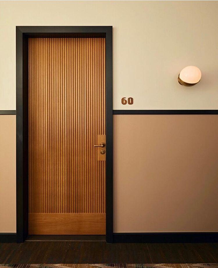 Soho House On Instagram Accidentally On Purpose Wes Anderson Sohohouseamsterdam Sohohouse Door Design Interior Doors Interior Modern Hotel Doors Design