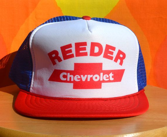 chevrolet baseball hats vintage foam trucker mesh hat red white blue cap chevy caps for sale