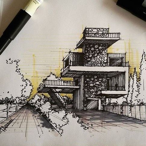 sketcharq by mansariarchitect Architecture drawings