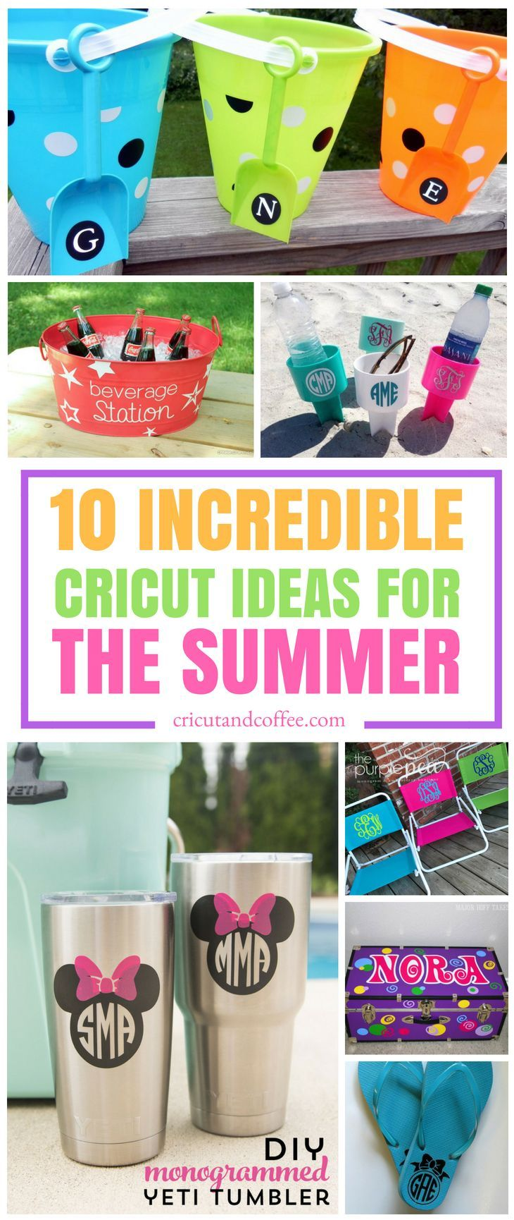 I honestly can not wait for the summer to get here so I can try to make some of these Cricut projects. SHARE and REPIN! #summer #cricut #cricutideas #cricutexploreone #cricutexploreair2 #crafts #diy #summercrafts #summerprojects #craftstosell