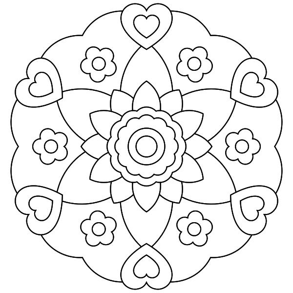 Mandala para imprimir 15 - La Guía de Mandalas | bordado sabanas ...