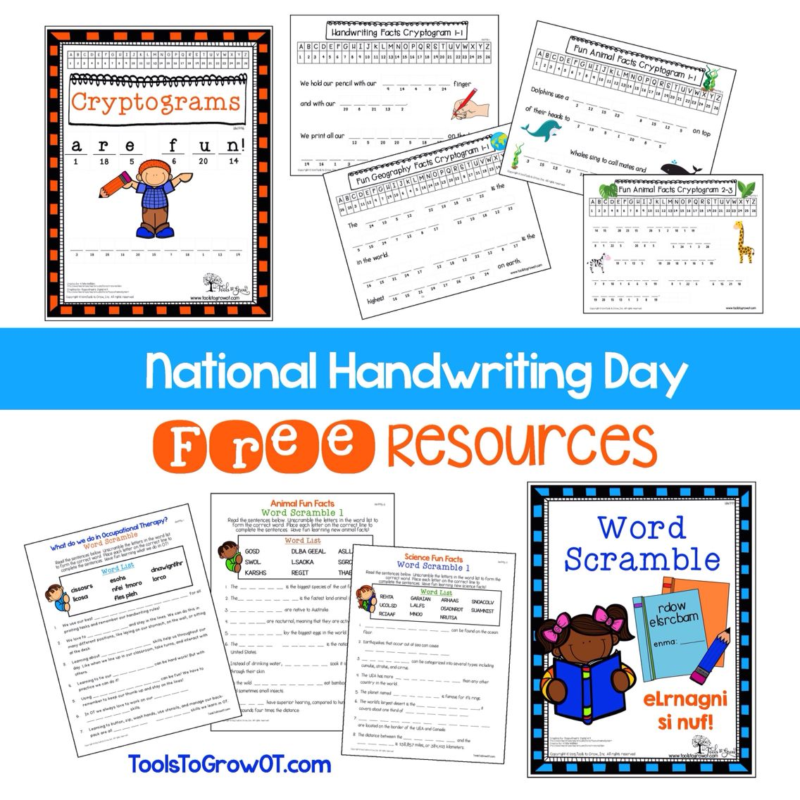 Happy National Handwriting Day Free Handwriting Resources Only For This Day