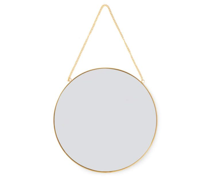 Living Colors Gold Round Hanging Mirror Big Lots Round Hanging Mirror Hanging Mirror Mirror