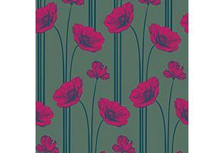 Poppy, Shale/Raspberry/Starry Night