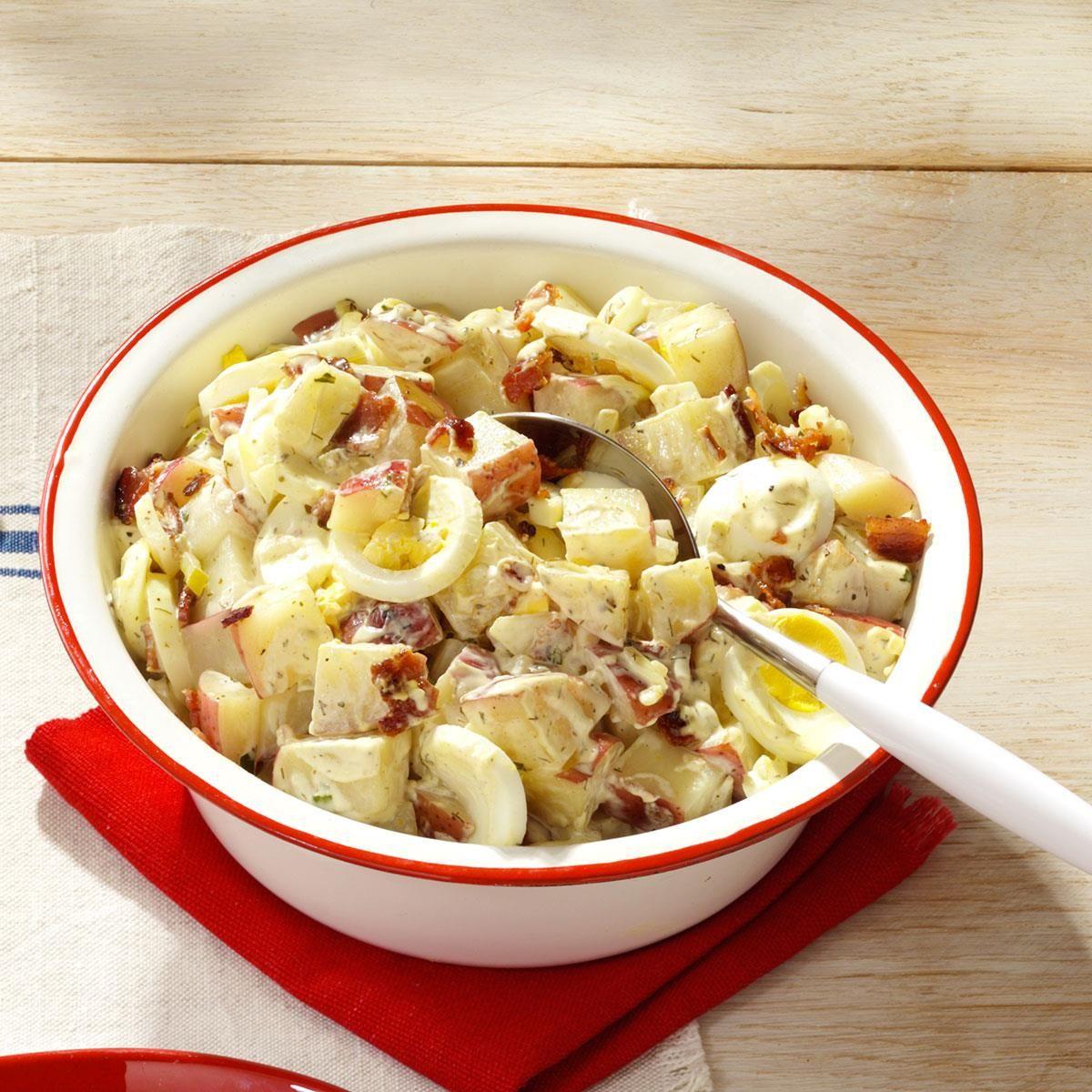 Potato Salad Recipe With Egg And Vinegar
