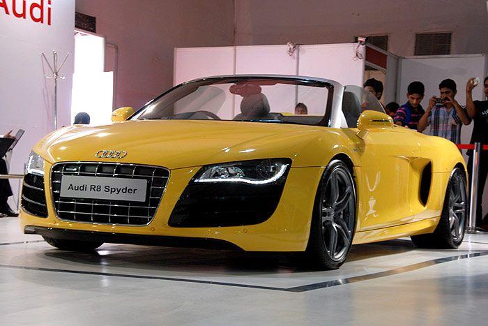 Audi R8 Spyder Yellow Picture Audi Car Pictures Audi Cars Audi