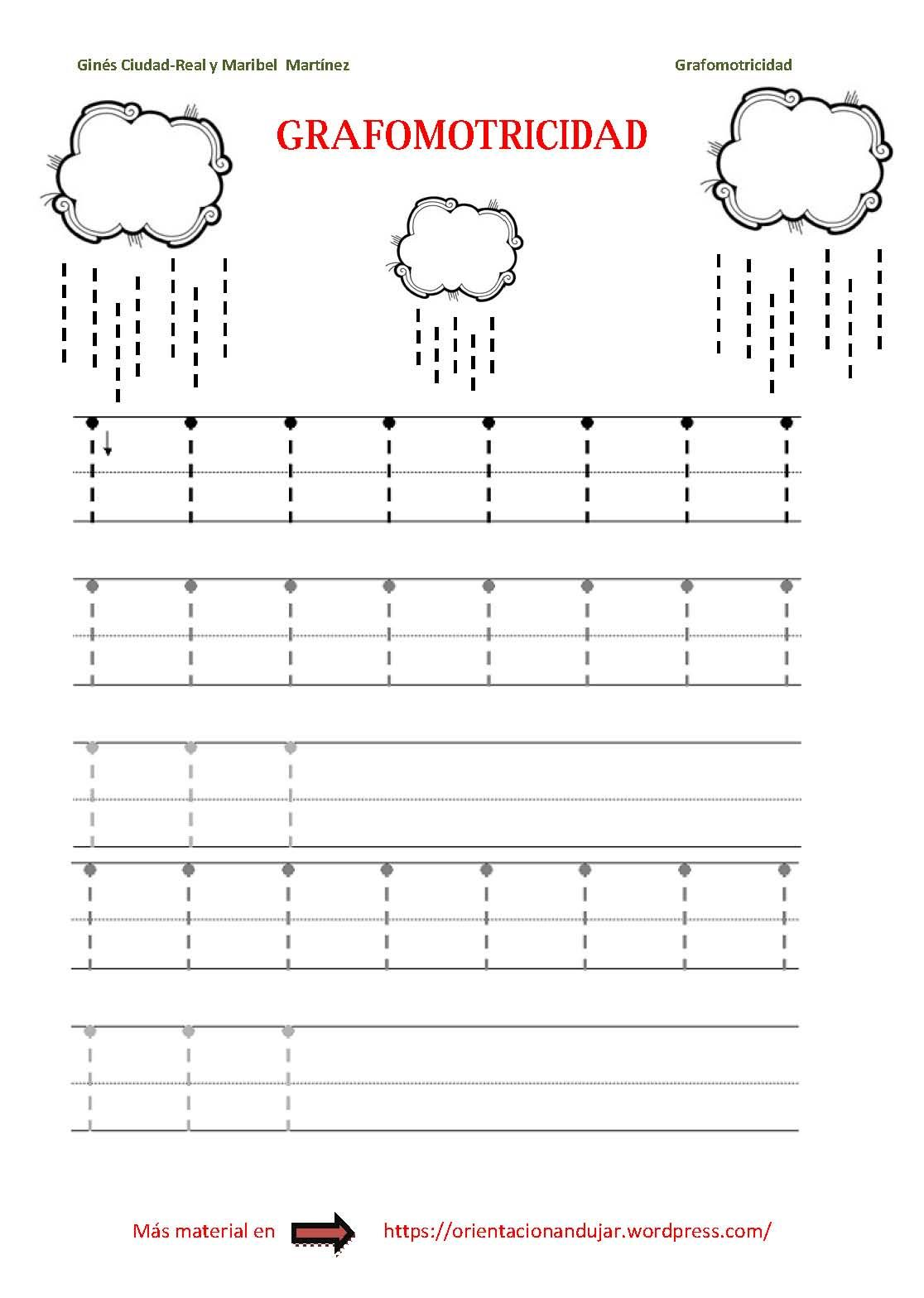 Vertical prewriting activities and worksheets
