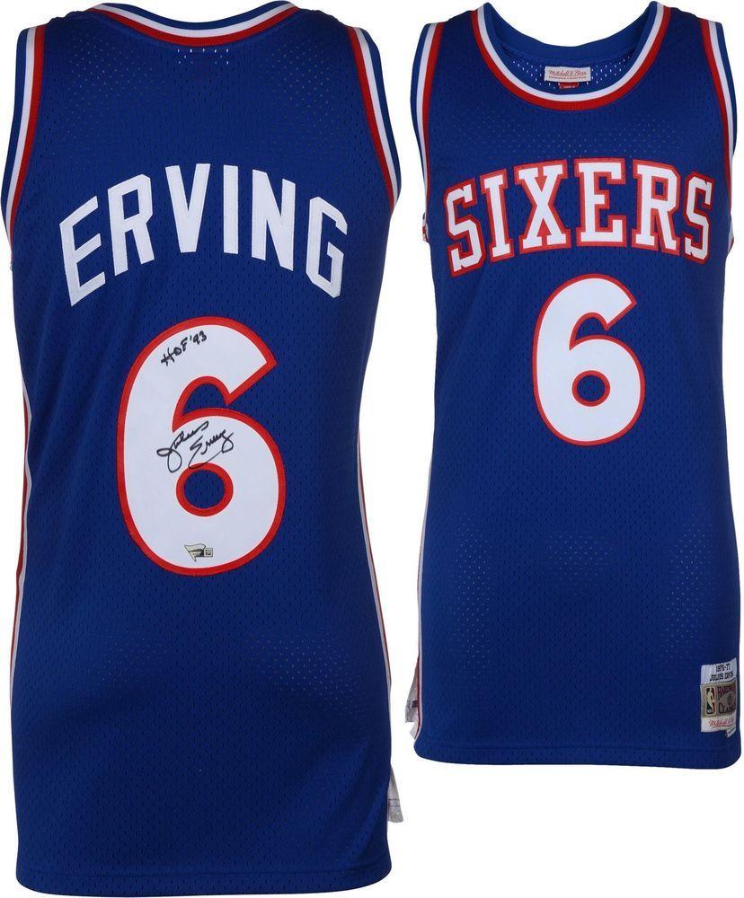 0ab37f9767d Autographed Julius Erving 76ers Jersey Fanatics Authentic COA Item#9068696
