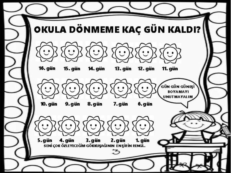 Okula Donmeme Kac Gun Kaldi Okuloncesi Tatil Okul