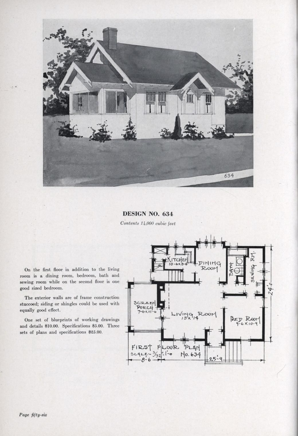 Bungalows J W Lindstrom Free Download Borrow And Streaming Internet Archive House Plans Cottage House Plans Cottage Bungalow House Plans