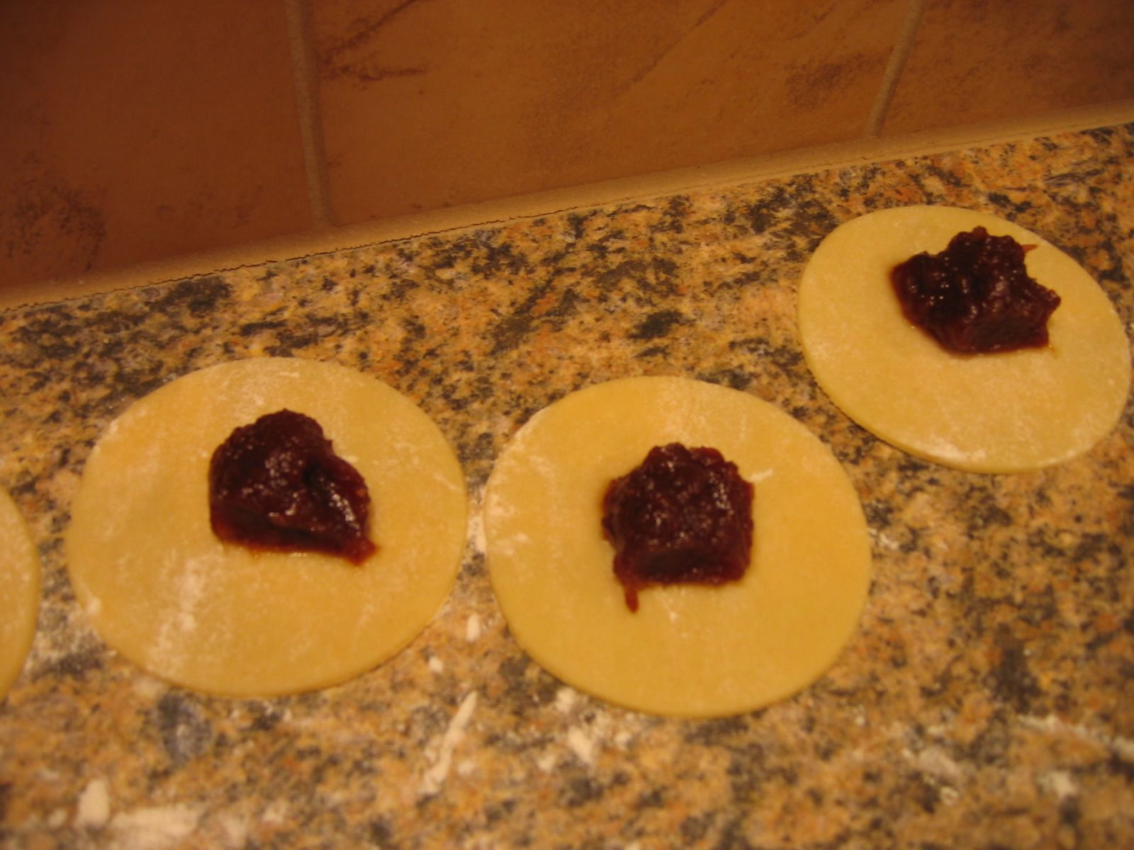 Date Filled Turnovers Sour Cream Cookies Xmas Food Filled Cookies