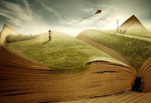 Books can take you anywhere you want to go.
