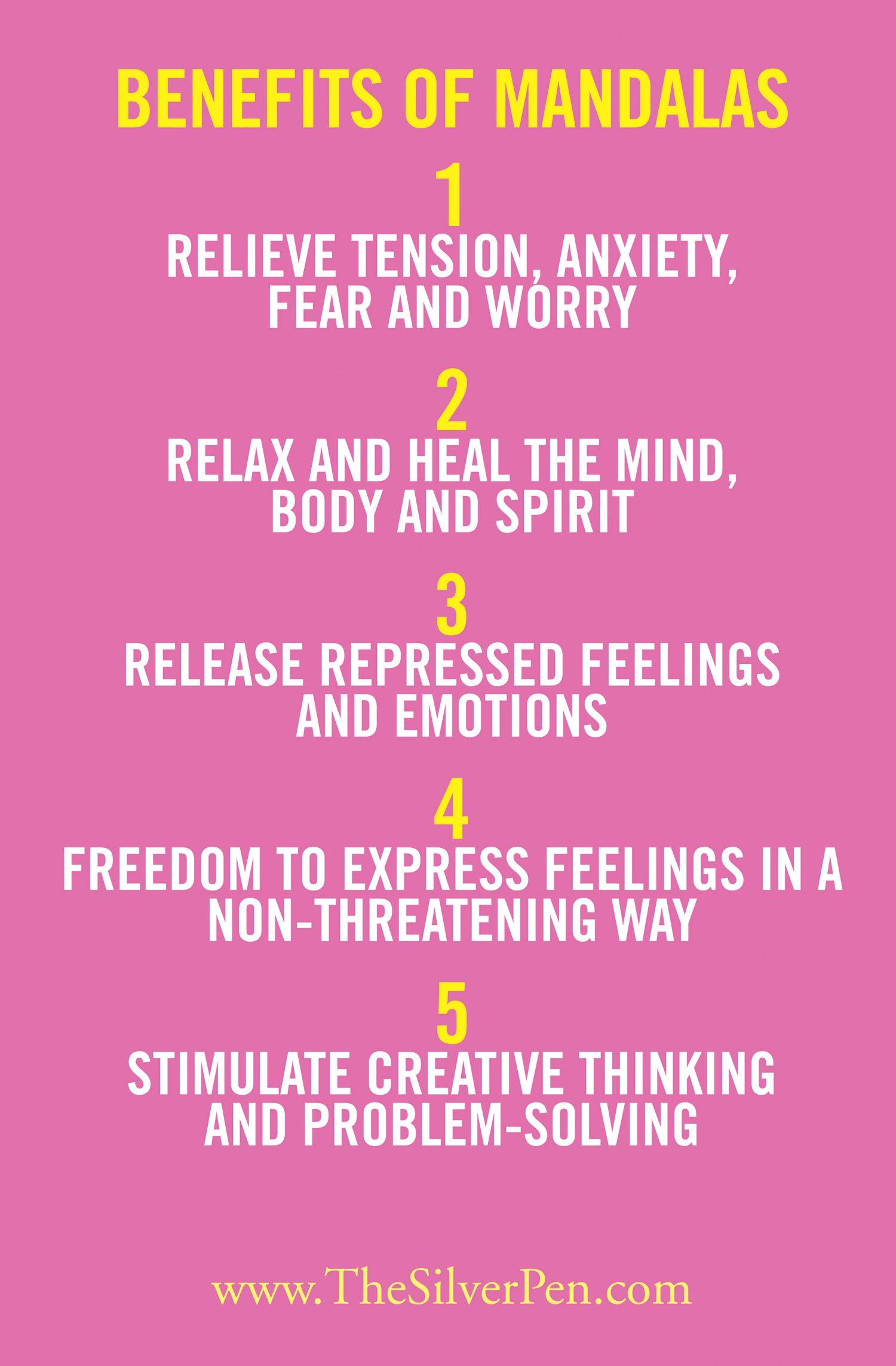 The benefits of mandalas Perfect