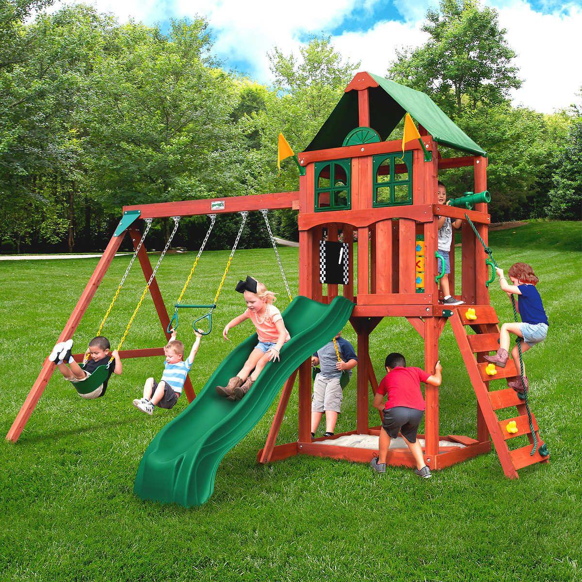 Enjoyable Gorilla Playsets Playmaker Ii Playset Do It Yourself Or Interior Design Ideas Philsoteloinfo