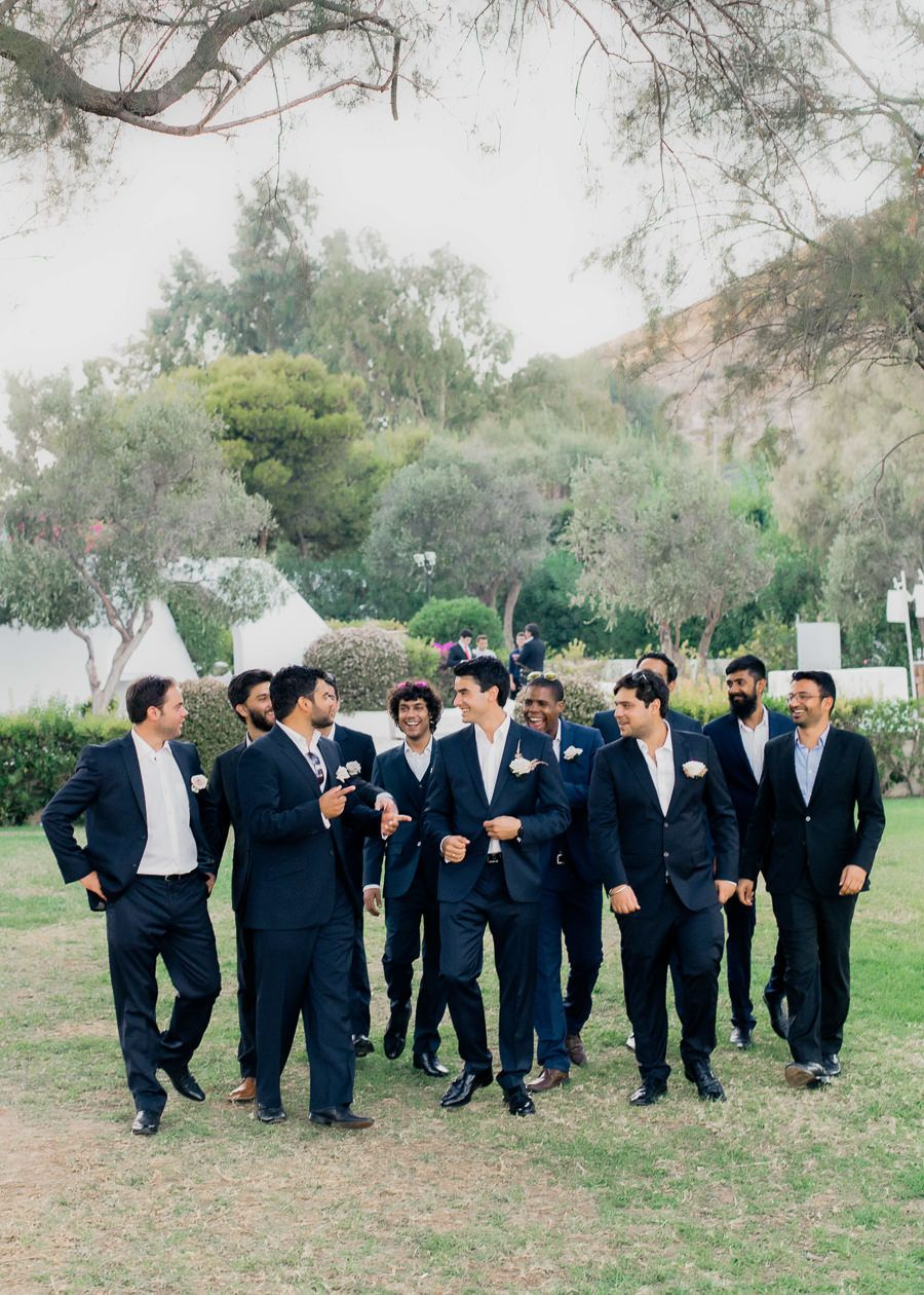 Guests Traveled from 5 Different Countries for This Wedding Day!