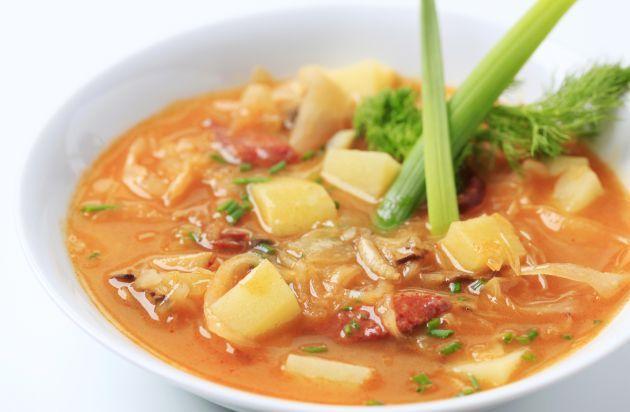 Sopa de Repollo Y Dieta